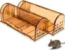 FPS Original Humane RAT Live Traps, Easy to Set, Reusable NEW SALE (2 TRAPS)