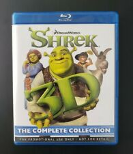 Shrek 3D Blu-ray Collection 1 - 4 Complete