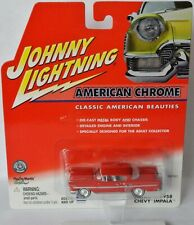 American Chrome - 1958 CHEVY IMPALA - red - 1:64 Johnny Lightning