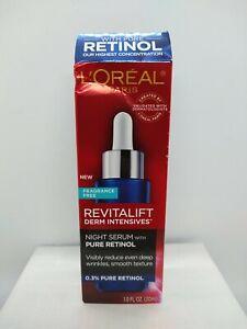 L'Oreal Revitalift Derm Intensives Night Serum with Pure Retinol, 30ml, #9182