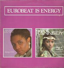 """MIGUEL BROWN & GRACE KENNEDY - Eurobeat Is Energy   12"""" Maxi Single VG++"""