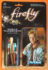 ReAction Firefly Television Series Hoban Washburne Action Figure by Funko New