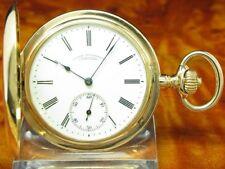 A. Lange & Söhne Tedesco Uhrenfabrikation Savonette 14kt. Oro Calibro Duf 41