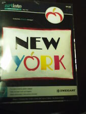 ARTISTE~EMBROIDERY~NEW YORK DESIGN KIT~10.52 X 6.83 INCHES ~NEW~THE BIG APPLE!!