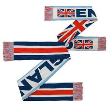 England World Cup Soccer 3 Flag Scarf Football National Team Scarf Blue