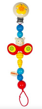 HEIMESS 732180 Wooden Butterfly Clip on DUMMY/SOOTHER/PACIFIER Chain Baby NEW