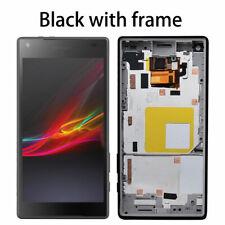 Für Sony Xperia Z5 Compact Mini E5803 E5823 LCD Display Touch Rahmen Schwarz ADE
