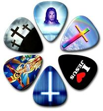 6 JESUS ~ Guitar Picks ~ Plectrums ~ Plectra  Printed Both Sides