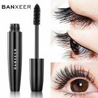 BANXEER Silk Fiber Eyelash Mascara Extension Makeup Black Waterproof Eye Lashes