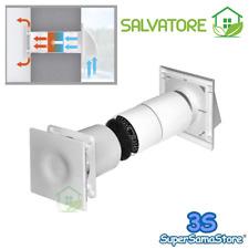 3S Récuperateur compact extracteur décentralisé avec récupération de la chaleur