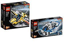 LEGO® Technic 42044+42045 Düsenflugzeug +Renngleitboot NEU OVP NEW MISB NRFB