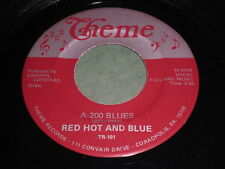 Red Hot And Blue: A-200 Blues / Hoy Hoy 45 - Blues