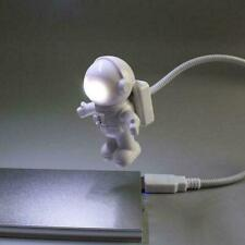 Cool Astronaut Spaceman USB LED Adjustable Night Light For Computer PC Lamp D2P9