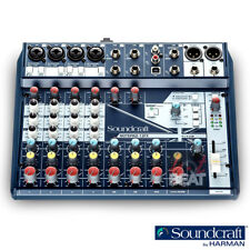 Soundcraft NOTEPAD 12FX Analog Mixing Console Mixer w/ USB I/O Lexicon Effects