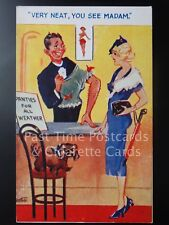 """PANTIES FOR ALL WEATHER """"Very Neat, You See Madam"""" - Pub by E.M. No.1023 160515"""