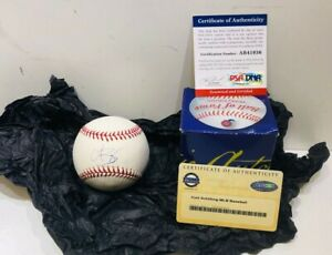 Curt Schilling Autographed Signed Rawlings Baseball PSA/DNA Authentic w/ COA