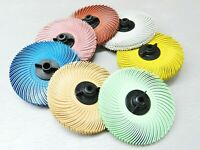 """3M Radial Bristle Disc Brush 3"""" Set of ALL 7 Grades 4-PLY with Hubs Assortment"""