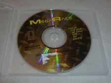 PANASONIC 3DO VIDEO GAME DISC ONLY MEGA RACE FZ1 FZ10 GOLDSTAR MINDSCAPE