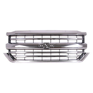 NEW Front Grille for 2016-2018 Chevrolet Silverado 1500 GM1200759C
