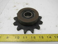 "Martin 80B13 #80 Sprocket 13 Tooth W/1"" ID Double Roller Bearing Idler"