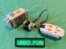 LEGO® Power Functions Set 9V 8881 + 8884 + 8885  Eisenbahn Train Technic wie neu