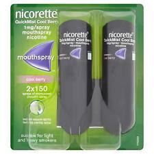 Nicorette Quickmist Berry Duo Mouth Spray - Stop Smoking Aid
