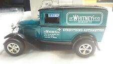 LIBERTY CLASSICS JC WHITNEY FORD A DELIVERY VAN COIN BANK MINT DIECAST 1:25