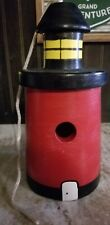 The Maine Buoy style wooden birdhouse handcrafted by Dana Googan Dayton, Maine