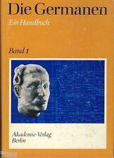 Die Germanen Geschichte und Kultur der Stämme Mitteleuropa Handbuch Band 1