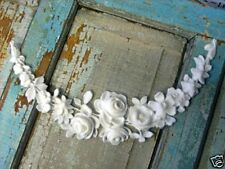 SHABBY & CHIC ROSE FRENCH SWAG ~ FURNITURE APPLIQUE / ONLAYS !