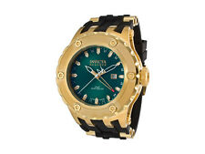 Swiss Made IInvicta 80593 Subaqua Reserve GMT Gold-Tone SS Green Dial Mens Watch