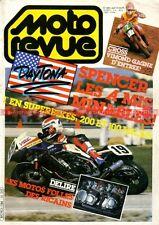 MOTO REVUE 2694 YAMAHA TY 340 de Gilles Burgat DAYTONA Freddie SPENCER 1985