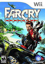 Far Cry Vengeance (Nintendo Wii, 2006)     DISC ONLY !!         FAST SHIPPING !!
