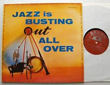 Jazz Is Busting Out All Over -S.SHIHAB/Y.LATEEF/F.FOSTER/...(1957)LP SAVOY New!!