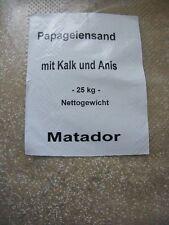 Papageiensand Sand Vogelsand 25 kg Grundpreis 0,28€/kg