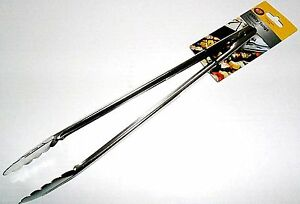 """TABLECRAFT UTILITY TONGS 16"""" LONG Commercial Quality Stainless Steel"""