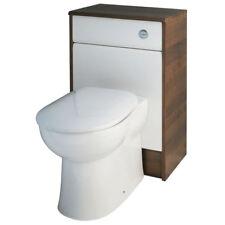 CG bagno 500mm JARRA BIANCO NOCE BTW unità water con sedile e vaschetta WC
