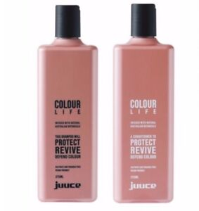 Juuce Colour life Shampoo and Conditioner 375ml Duo