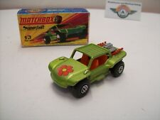 Matchbox Superfast 13, Baja Buggy, green metallic, 1971
