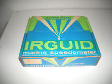 Vintage Airguide Boat Speedometer in Original Box Model 854