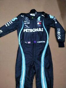 F1 L.Hamilton 2020  Style Printed Race Suit Go Kart/Karting Race/Racing Suit