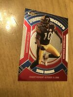 2006 Topps Finest Moments Santanio Holmes RFM-SH Rookie Card Pittsburgh Steelers