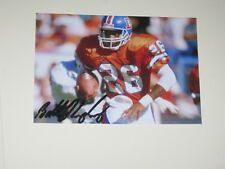 Denver Broncos BOBBY HUMPHREY Signed 4x6 Photo NFL AUTOGRAPH 1