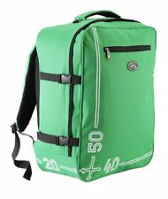 Cabin Max Hand Luggage Backpack Travel Bag Lightweight Carry On Back Pack Green