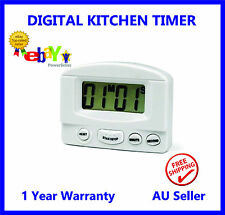Large display LCD Digital Kitchen Timer Count-Down Up Clock Loud Alarm