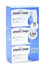 Ubbi Diaper Pail Bags Ubbi Plastic Bags, 75 - Pack, 3 - Count New