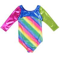 Soft Girls Fitness Kids 4-14Y Leotards Sport Dance Ballet Gymnastics Unitards
