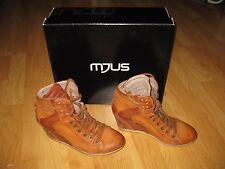 Mjus Wedges High-Sneaker - HIKER Bronze Braun - Gr 39  - Echt-Leder