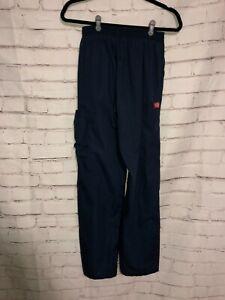 Scrub Pants Bottom, Small - Dickies - Dark Blue