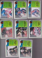 1983 - 84 OPC LOT of 8 NHL LEADERS NM+ o-pee-chee 3 GRETZKY cards PEETERS